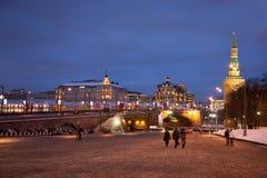Area Vasilyevskiy Spusk Royalty Free Stock Images