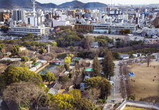 Area view on the a modern Iwakuni city Stock Images