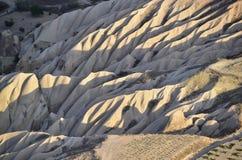 Areal Cappadocia Arkivfoto