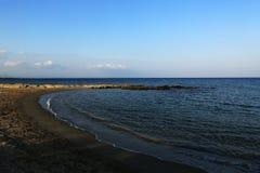 The areal Crystal Rocks, Salamis, Northern Cypru Stock Photo