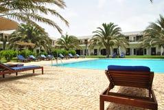 Areal hotelowy Dunas Del Sal, wyspy Sal Obrazy Stock