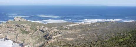 Areal jak widok przylądka punktu panoramiczny szeroki strzał fotografia royalty free
