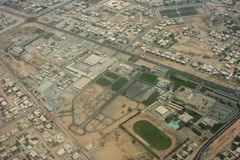 Areal map. Areal view from the sky Stock Image