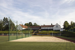 Areal of the Sportschule in Werdau, Germany, 2015 Stock Photo