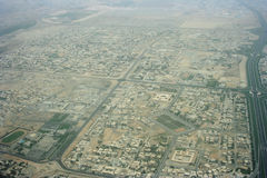 Areal View. From the sky Royalty Free Stock Photo