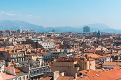 Areal view on Marseille Stock Images