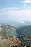 Areal view nainital Royalty Free Stock Photo