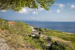 Free Areal View On Coastline Near Orebic, Croatia Stock Image - 133721711