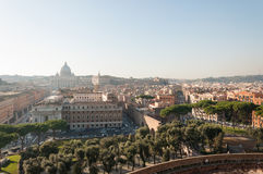 Areal view of Vatican City Royalty Free Stock Photo