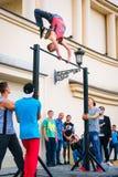 Areana della concorrenza di sport all'aperto Fotografie Stock