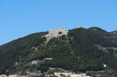 Arechi Castle of Salerno Royalty Free Stock Images