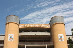 arechi Italy salerno stadium Zdjęcia Royalty Free