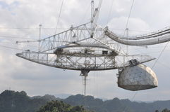 Arecibo Observatory 2 royalty free stock photography