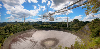 Arecibo Observatory Royalty Free Stock Image