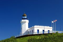 Arecibo's lighthouse. Lighthouse from Arecibo, Puerto Rico Royalty Free Stock Photo
