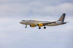 ARECIFE, ΙΣΠΑΝΙΑΣ - 15 ΑΠΡΙΛΙΟΥ, 2017: Airbus A320 COM με Στοκ φωτογραφία με δικαίωμα ελεύθερης χρήσης
