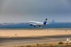 ARECIFE, ΙΣΠΑΝΙΑΣ - 16 ΑΠΡΙΛΙΟΥ, 2017: Airbus A321 ThomasCook COM W Στοκ φωτογραφίες με δικαίωμα ελεύθερης χρήσης