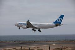 ARECIFE, ESPANHA - ABRIL, 15 2017: Airbus A330-200 do la de AirEuropa Foto de Stock Royalty Free