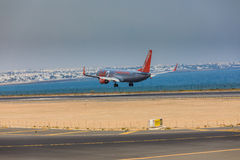 ARECIFE, SPAIN - APRIL, 16 2017: Boeing 737-800 of Jet2 with the Stock Photography