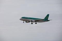 ARECIFE, SPANIEN - APRIL, 15 2017: Airbus A320 von Aer Lingus bereit Lizenzfreies Stockbild
