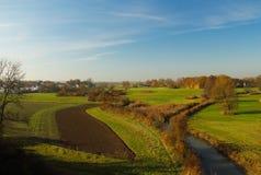 Aree pastorali della Baviera in Germania Immagine Stock Libera da Diritti