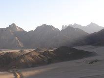 Areia árabe Dunes5, Egipto, África fotografia de stock
