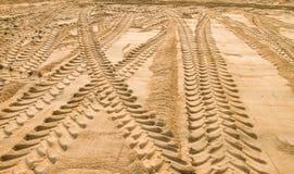 A areia Fotos de Stock