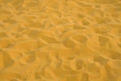 Areia amarela Imagem de Stock