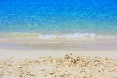 Areia bonita Foto de Stock
