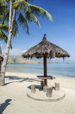 Areia branca beach near dili east timor Royalty Free Stock Photography