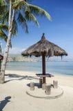 Areia branca beach near dili east timor. Timor leste royalty free stock photography