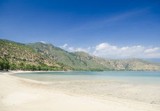 Areia branca beach near dili east timor Stock Photos