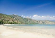 Areia branca beach near dili east timor. Areia branca tropical beach near dili in east timor stock photos