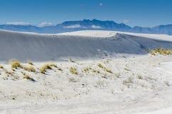 Areia branca Ridge - branco lixa o parque nacional - nanômetro imagem de stock royalty free