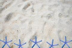 Areia branca sutil Fotografia de Stock Royalty Free
