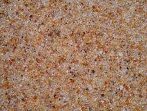 Areia colorida molhada Fotos de Stock Royalty Free