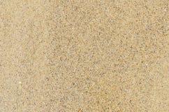 Areia como o fundo textured Imagens de Stock Royalty Free