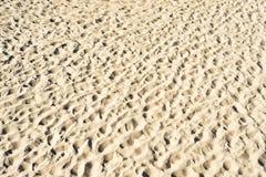 Areia como a textura ou o fundo Foto de Stock Royalty Free