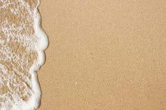 Areia da água Imagem de Stock Royalty Free