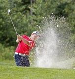 Areia do depósito de Blair Bursey do golfe Imagem de Stock Royalty Free