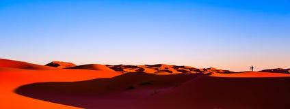 Areia do deserto de Sahara Fotografia de Stock Royalty Free