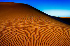 Areia do deserto de Sahara Fotos de Stock Royalty Free