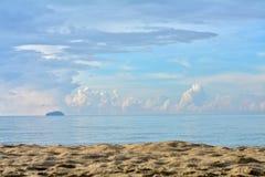 Areia do mar Fotos de Stock