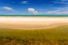 Areia do mar do céu Imagem de Stock Royalty Free