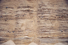 Areia do período jurássico Fotografia de Stock