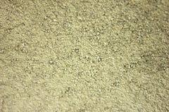 Areia e cimento secos foto de stock