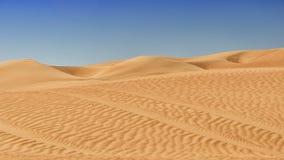 Areia e dunas do deserto Imagem de Stock Royalty Free