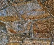 Areia e fundo concreto Fotografia de Stock