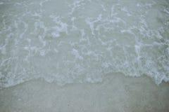 Areia e mar Foto de Stock