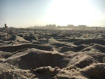 Areia e o sol Fotografia de Stock
